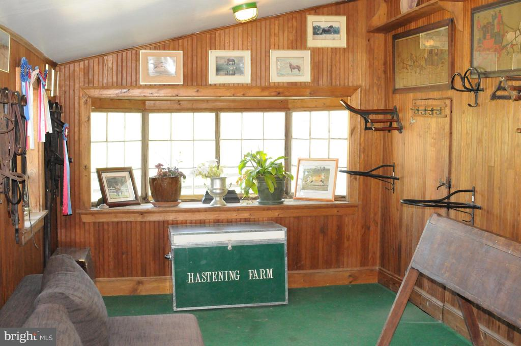 Tack Room in Six- Stall Bank Barn - 20597 FURR RD, ROUND HILL