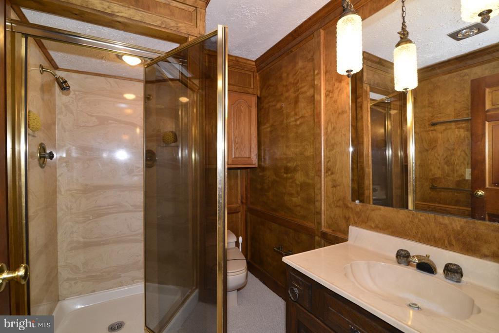 Lower  level bath - 346 SALEM CHURCH RD, BOYCE