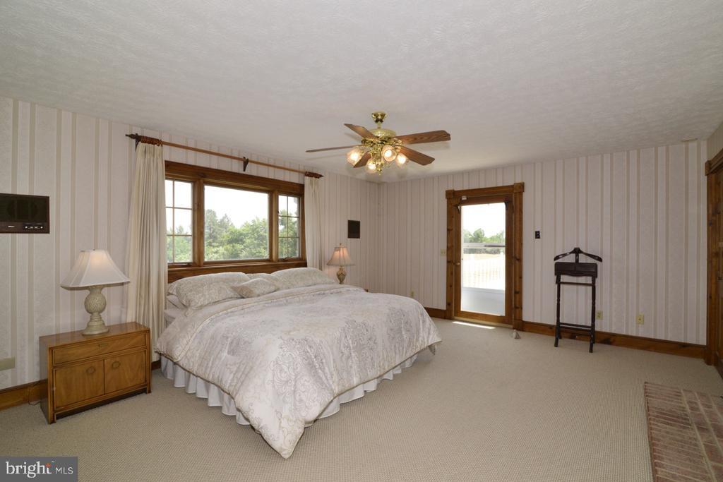 Master bedroom - 346 SALEM CHURCH RD, BOYCE