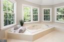 Master Bath - Luxury Whirlpool Bath - 10735 BEECHNUT CT, FAIRFAX STATION