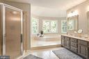 Master Bath - Separate Shower - 10735 BEECHNUT CT, FAIRFAX STATION