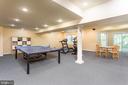 Walkout Recreation Room - 10735 BEECHNUT CT, FAIRFAX STATION