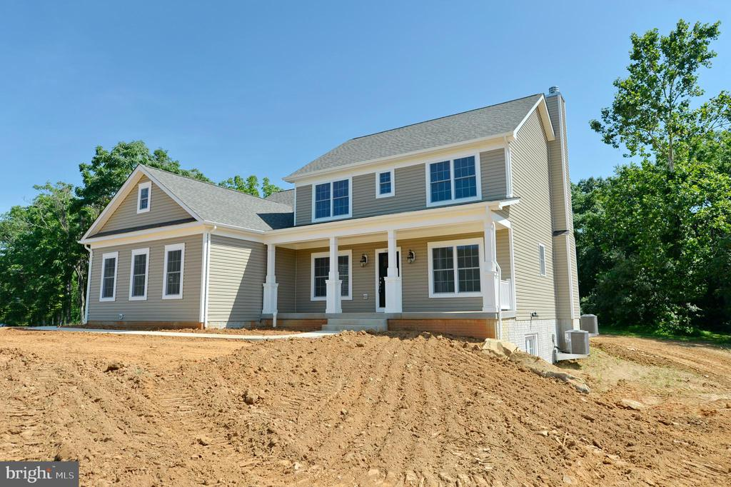 New construction front porch. - 3 CLARA MAE COURT, ROUND HILL