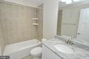 Main level full bath - 3 CLARA MAE COURT, ROUND HILL
