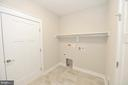 Main level laundry with built ins - 3 CLARA MAE COURT, ROUND HILL