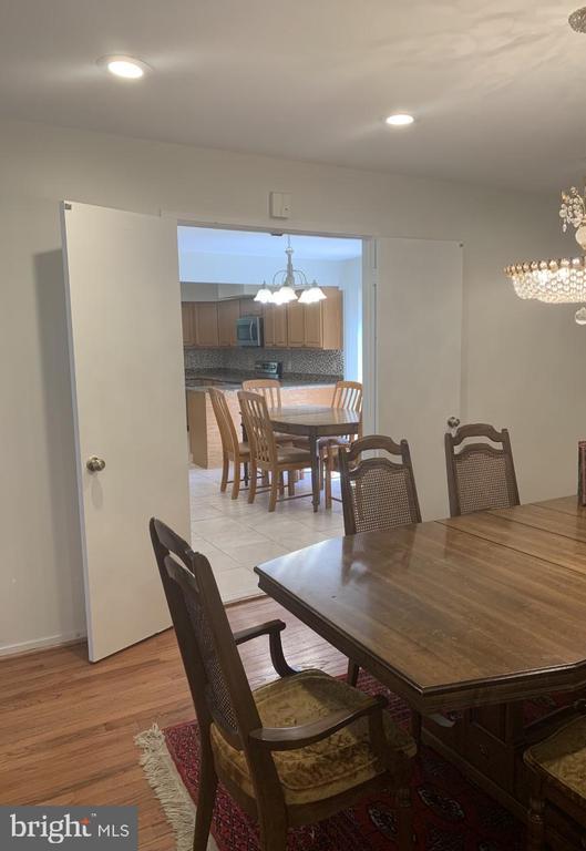 Dining Room - 6012 VALERIAN LN, NORTH BETHESDA