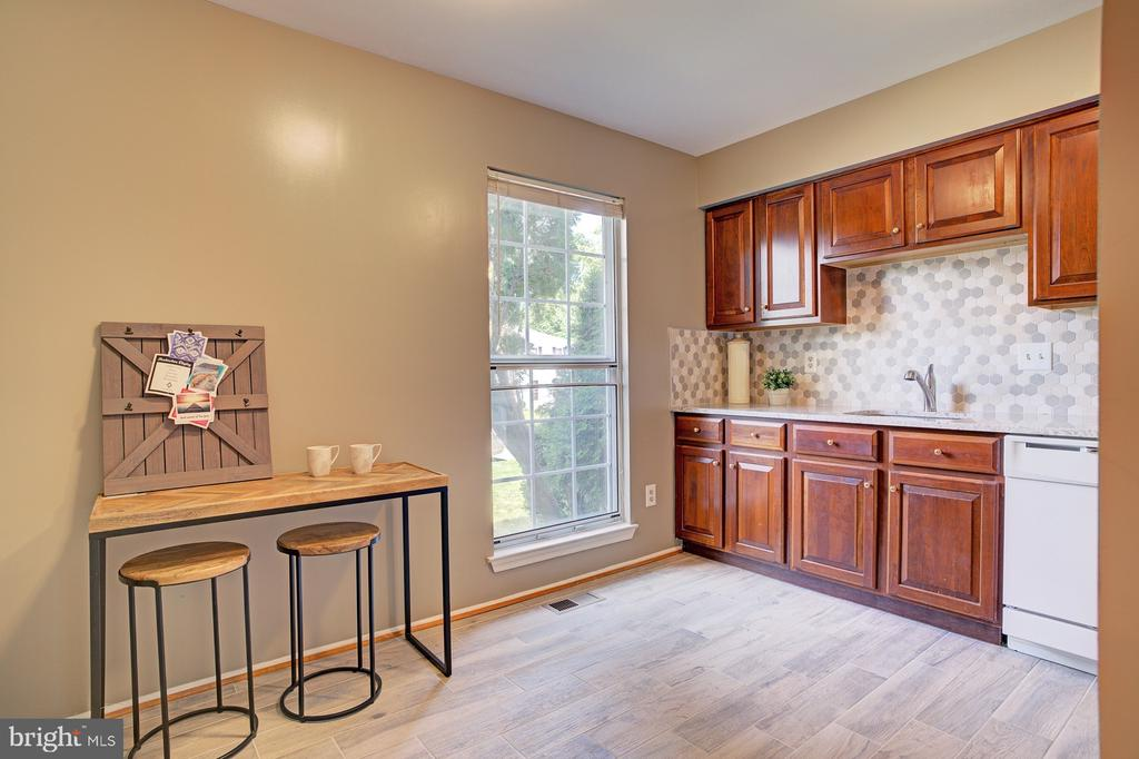 Brand new  tile floors - 5994 POWELLS LANDING RD, BURKE