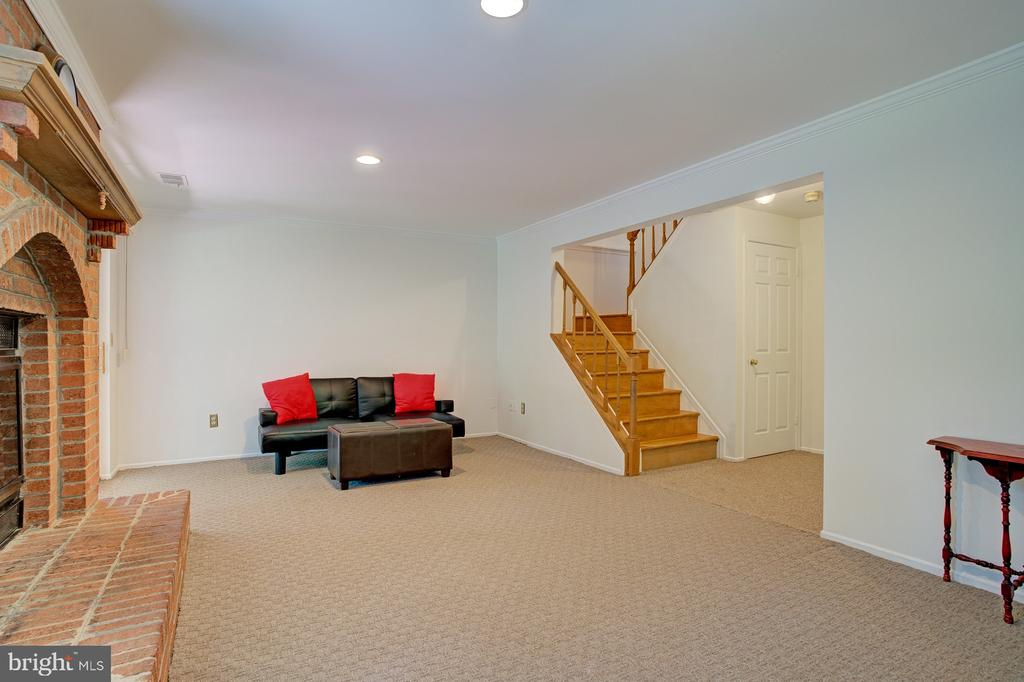 Bright and open lower level - 5994 POWELLS LANDING RD, BURKE