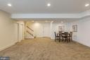 Finished basement 9 ft ceilings - 2232 POTOMAC RIVER BLVD, DUMFRIES