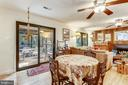 FR opens to screened-in porch & deck - 10733 CROSS SCHOOL RD, RESTON
