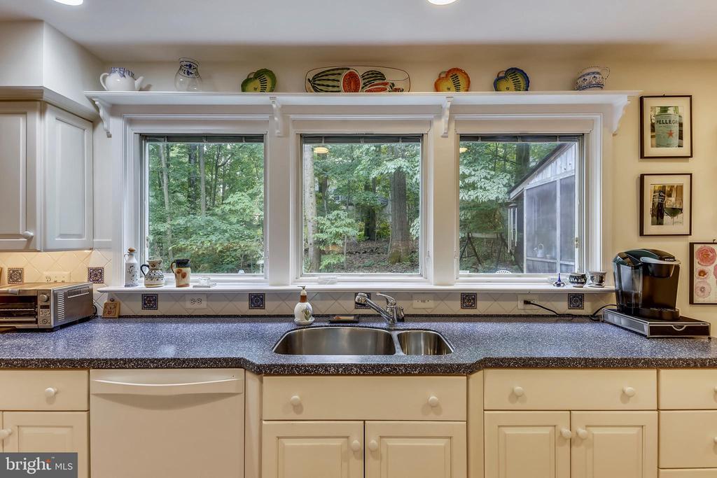 Pella  windows look to beautiful nature views - 10733 CROSS SCHOOL RD, RESTON