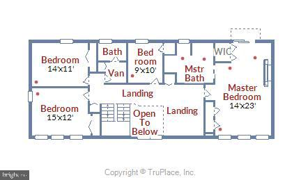 UL Floorplan - 10733 CROSS SCHOOL RD, RESTON
