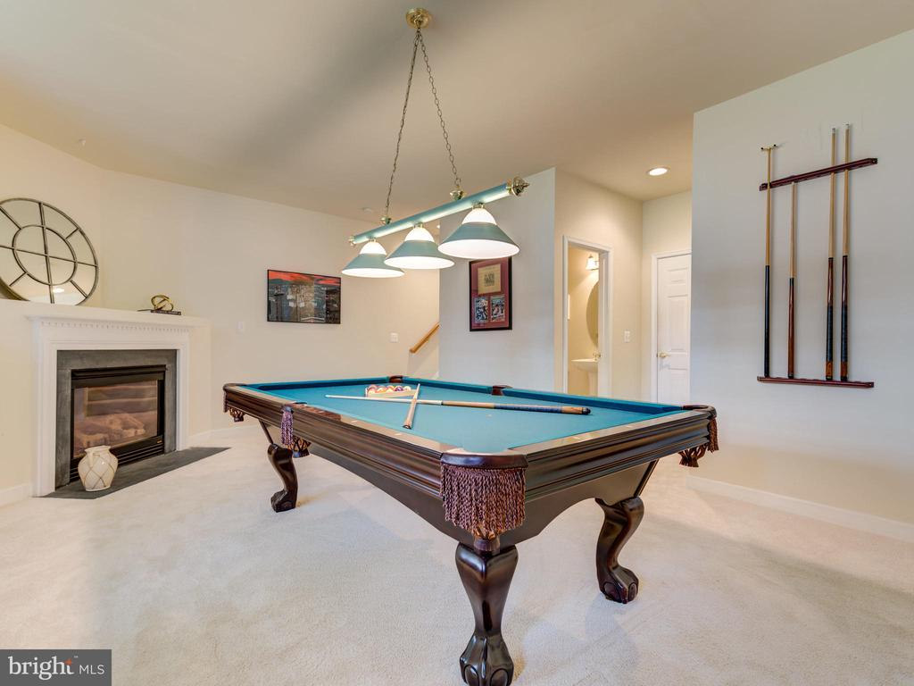 GAME ROOM, THEATRE ROOM, GUEST SUITE! - 19145 COMMONWEALTH TER, LEESBURG