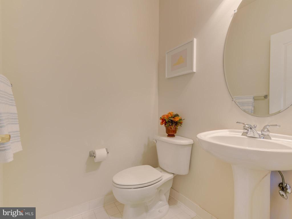 2ND HALF BATH, LOWER LEVEL - 19145 COMMONWEALTH TER, LEESBURG
