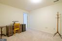 Lower level room - 4621 TAPESTRY DR, FAIRFAX