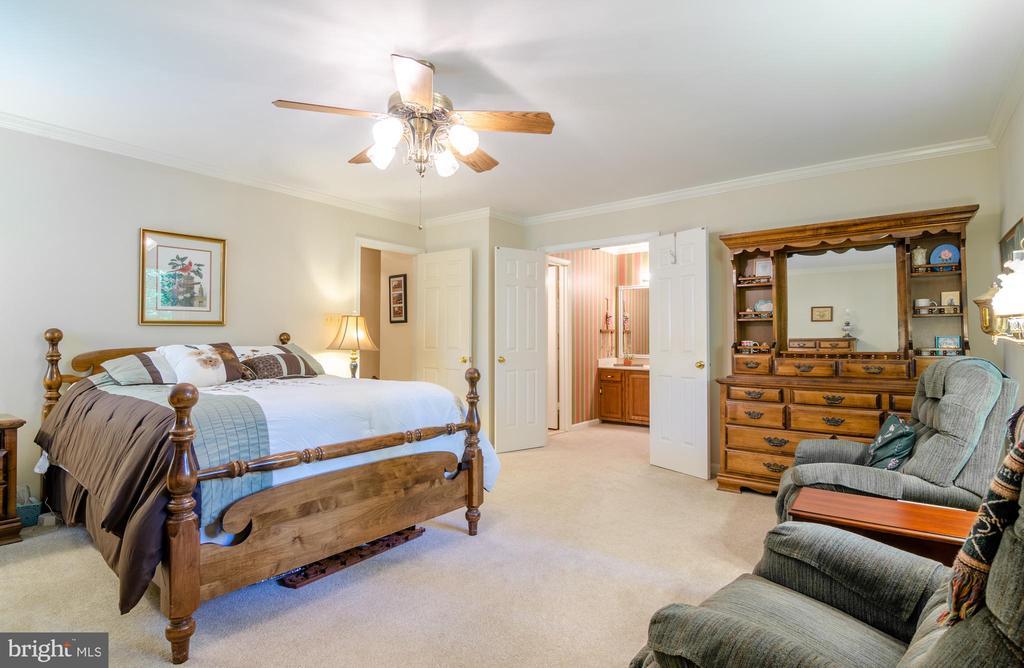 Huge Master Bedroom - 4621 TAPESTRY DR, FAIRFAX