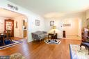 Notice the gorgeous hardwood floors - 4621 TAPESTRY DR, FAIRFAX