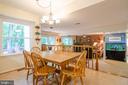 Breakfast Area off kitchen - 4621 TAPESTRY DR, FAIRFAX