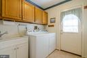 Laundry room  with sink on main level - 4621 TAPESTRY DR, FAIRFAX
