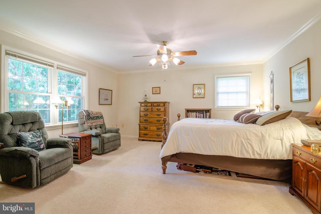 Plenty of room to relax in your Master BR - 4621 TAPESTRY DR, FAIRFAX