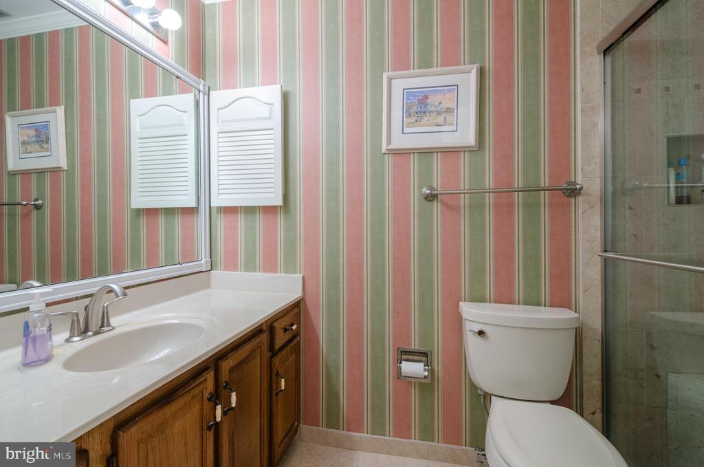 Updated Master bath with walk-in shower - 4621 TAPESTRY DR, FAIRFAX