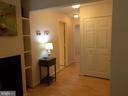Nice entry way! Maple Pergo floors throughout! - 20602 CORNSTALK TER #102, ASHBURN