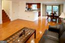 Gorgeous Hardwood Floors - 5614 DE SOTO ST, BURKE