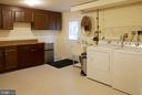 Spacious Laundry Room in Walkout Basement - 5614 DE SOTO ST, BURKE