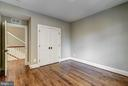 wood floors in the third upstairs bedroom - 2320 N VERNON ST, ARLINGTON
