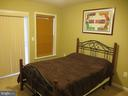 Lower level bedroom with full bath - 15726 JOHN DISKIN CIR #147, WOODBRIDGE