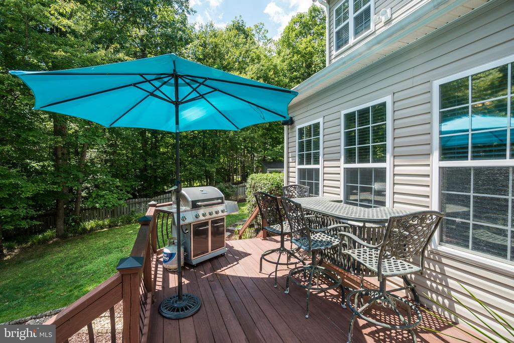 Multi-tiered Decking off the Kitchen/Family Room - 175 SAINT MARYS LN, STAFFORD