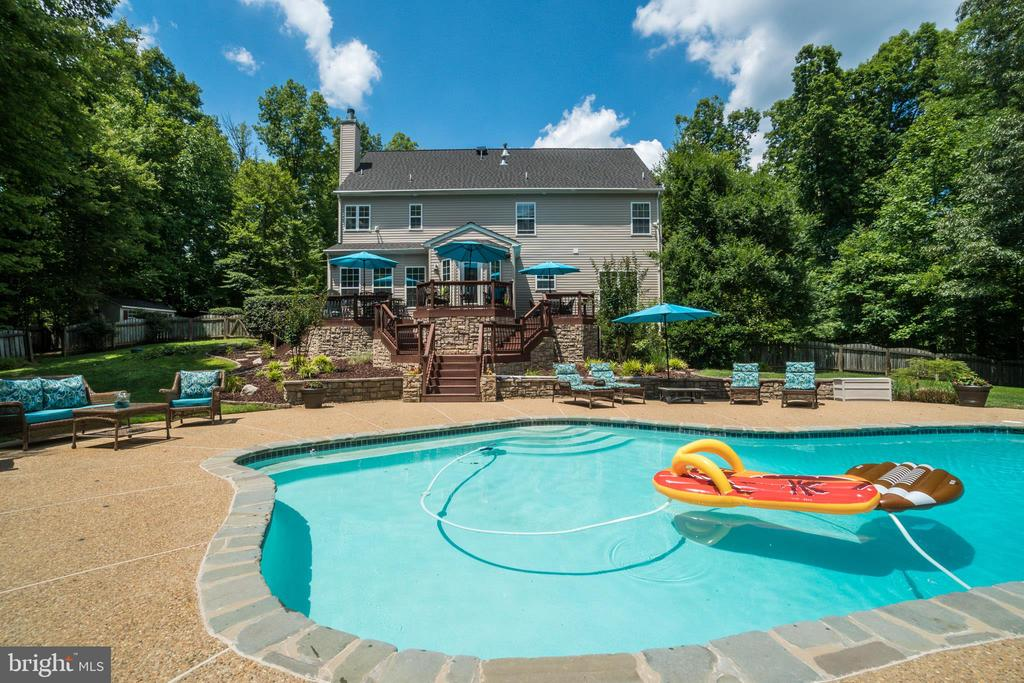 Custom Luxury Pool-your own Private Paradise - 175 SAINT MARYS LN, STAFFORD