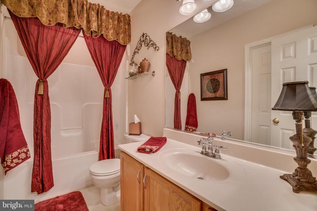 Full Basement Bathroom off Bedroom 5 - 175 SAINT MARYS LN, STAFFORD