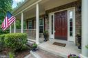 Wraparound Stone Front Porch - 175 SAINT MARYS LN, STAFFORD