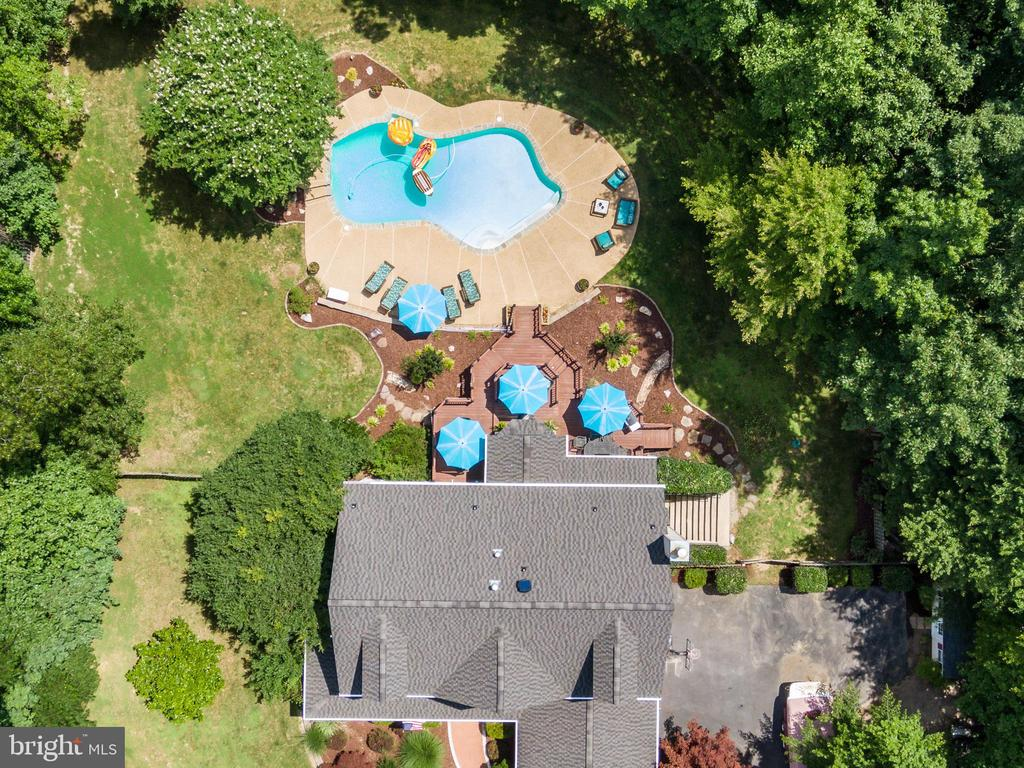 Aerial View of Estate - 175 SAINT MARYS LN, STAFFORD