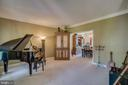 Formal Living Room/Study/Office/Music Room - 175 SAINT MARYS LN, STAFFORD