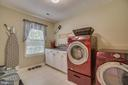 Upper Bedroom Level Laundry Room is HUGE - 175 SAINT MARYS LN, STAFFORD