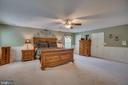 Spacious Master Suite with his and Her Closets - 175 SAINT MARYS LN, STAFFORD