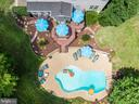 Tiered Deck with Luxury Pool and Patio - 175 SAINT MARYS LN, STAFFORD