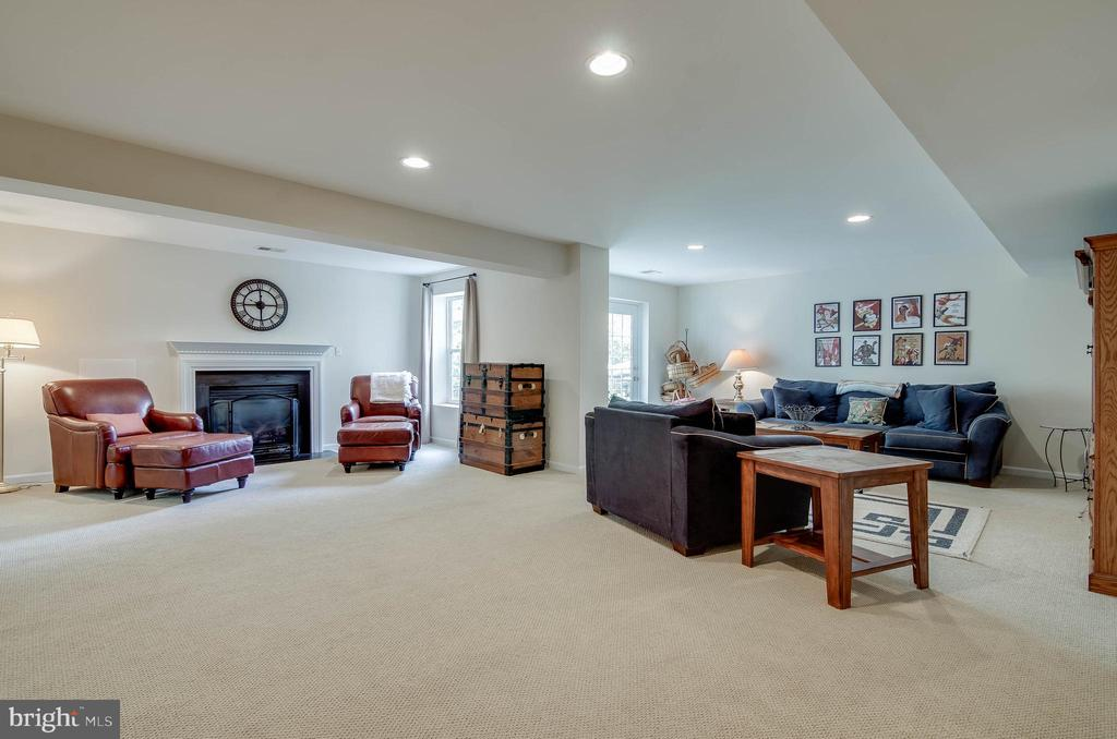 Lower Level Great Rm Has Gas Fire Place! - 231 REBECCA DR, WINCHESTER