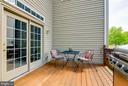 Lovely Deck Overlooking a Park-Like Yard - 231 REBECCA DR, WINCHESTER
