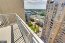 Balcony - 11990 MARKET ST #2001, RESTON