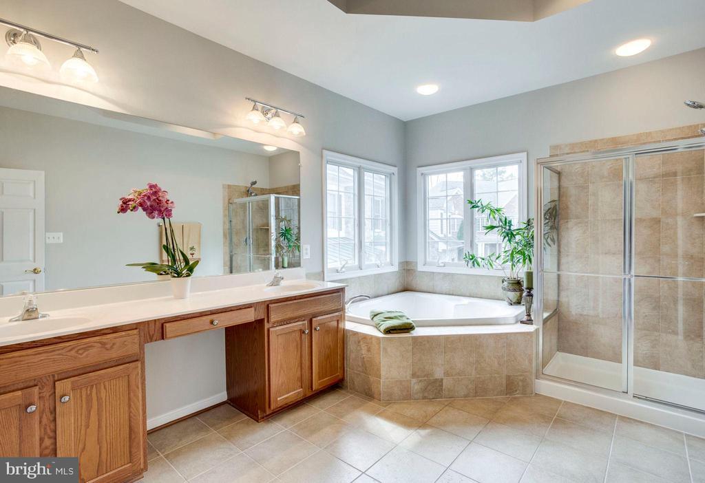 Master bathroom - 43083 ROCKY RIDGE CT, LEESBURG