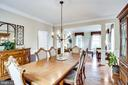 Dining room - 43083 ROCKY RIDGE CT, LEESBURG