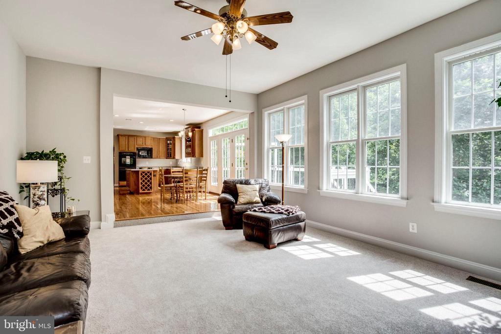 Great room - 43083 ROCKY RIDGE CT, LEESBURG