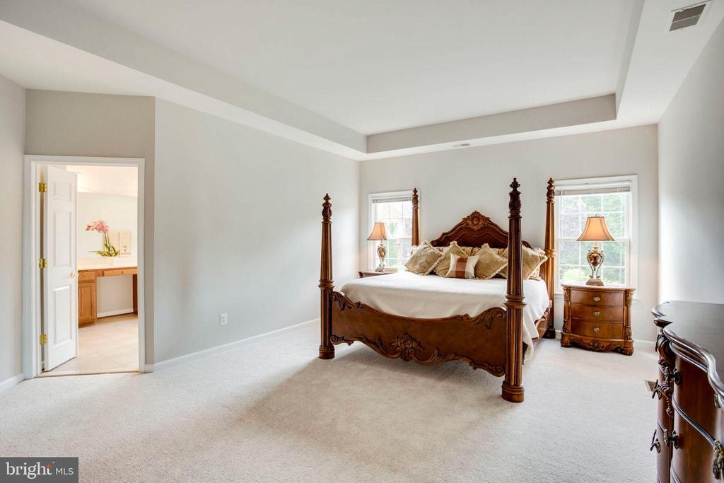 Master bedroom - 43083 ROCKY RIDGE CT, LEESBURG