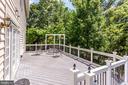Composite deck - 43083 ROCKY RIDGE CT, LEESBURG