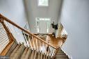 Two-story foyer - 43083 ROCKY RIDGE CT, LEESBURG