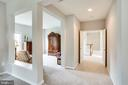 Master suite with sitting room - 43083 ROCKY RIDGE CT, LEESBURG