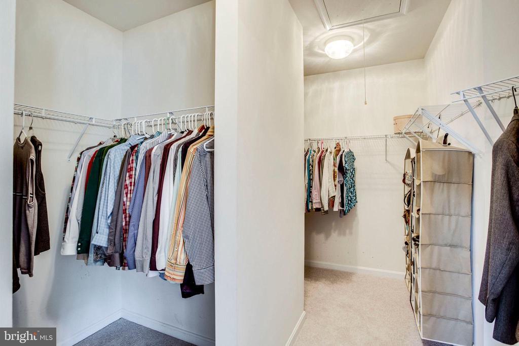 Master walk-in closet - 43083 ROCKY RIDGE CT, LEESBURG